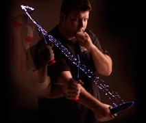 Spontaneous knife defense instructor